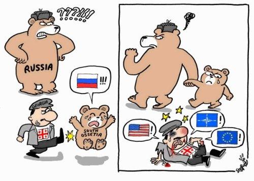 Russia-Georgia Ossetia war